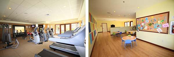 HGVCキングスランドのスポーツジムと子供センター